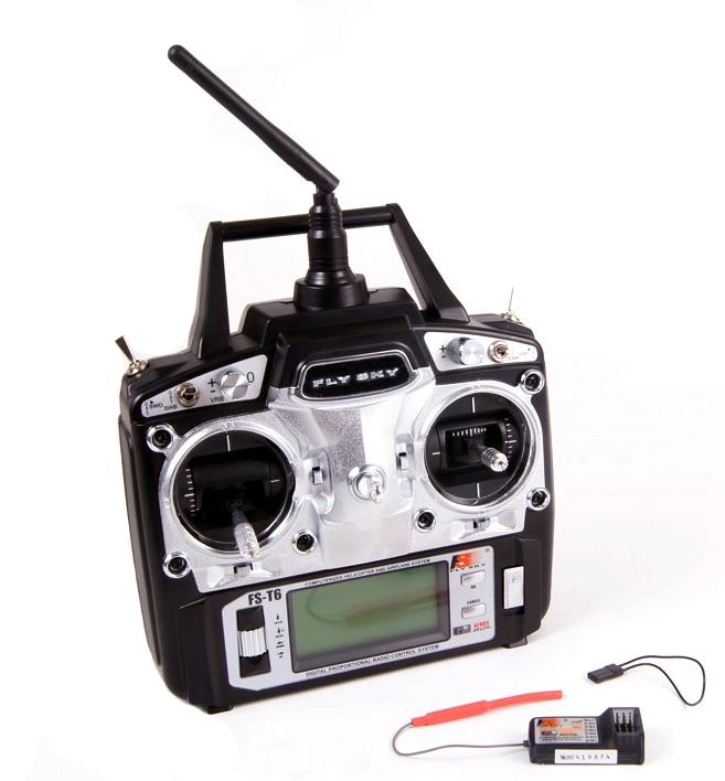 Flysky t6b+приемник r6b инструкция описание