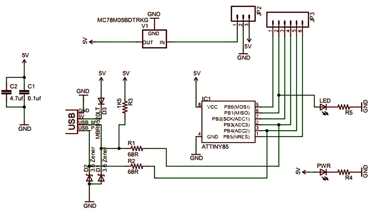 Atmel AVRISP STK500 USB ISP Programmer - Arduino