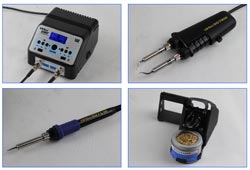 Термопинцет c паяльником YIHUA-938BD+ SMD Hot Tweezer soldering station