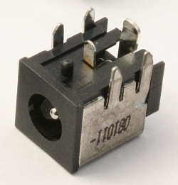 Разъем DC Power Jack PJ055 (1.65mm center pin)