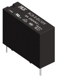 Реле AC5-S-DC24V 5A 1A coil 24VDC