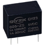 Реле QY23-012-ZS 1A 1C coil 12V 0.2W