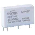 Реле QY49F-012-HS 5A 1A coil 12VDC